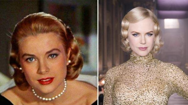 Grace Kelly and Nicole Kidman