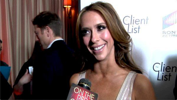Jennifer Love Hewitt talks to OnTheRedCarpet.com at the April 2012 premiere of The Client List. - Provided courtesy of OTRC