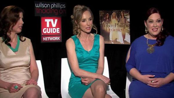From left: Wendy Wilson, Chynna Phillips and Carnie Wilson talk to OnTheRedCarpet.com about Wilson Phillips new reality show, Wilson Phillips: Still Holding On.