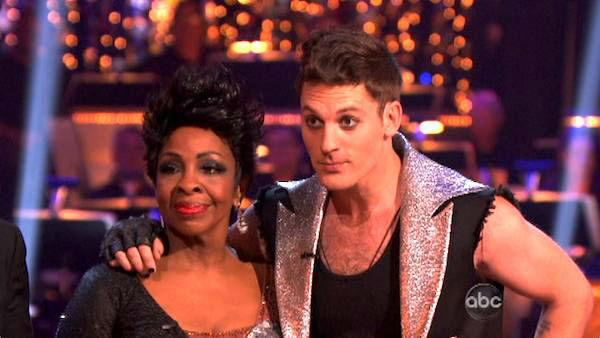 R&B legend Gladys Knight and her partner Tristan MacManus received 20 out of 30 points from the judges for their Tango on week four of 'Dancing With The Stars,' which aired on April 9, 2012.