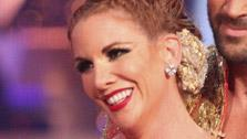 Melissa Gilbert, a former child star who played Laura on Little House on the Prairie, and her partner Maksim Chmerkovskiy received 22 out of 30 points from the judges for their Paso Doble on week 4 of Dancing With The Stars on April 9, 2012. - Provided courtesy of ABC / Adam Taylor