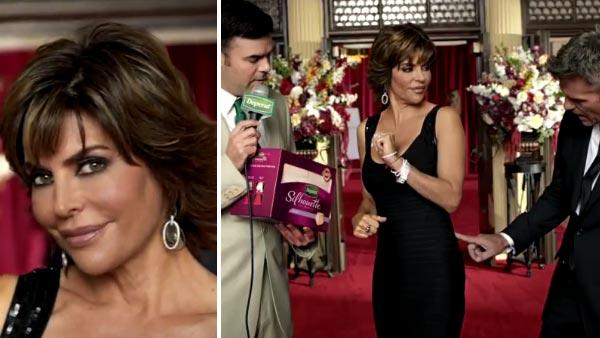 Lisa Rinna appears in a 2012 commercial for Depends new Silhouette for Women products. - Provided courtesy of ABC / Depend