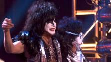 KISS returned to the Dancing With The Stars stage for a performance of Lick it Up on Dancing With The Stars: The Results Show on Tuesday, April 10, 2012. - Provided courtesy of ABC
