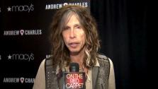 Steven Tyler praises American Idol finalists Jessica Sanchez and Phil Phillips as the season 11 race heats up - Provided courtesy of OTRC