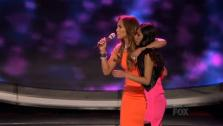 essica Sanchez and Jennifer Lopez appear on American Idol on April 12, 2012. Sanchez was set to be voted off in what marked season 11s biggest shocker but the judges used a save tactic to give her another chance. - Provided courtesy of OTRC