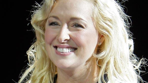 Country singer Mindy McCready performs Nov. 14, 2008, in Nashville, Tenn. Nashville police say McCready has been hospitalized after an apparent suicide attempt Dec. 17.