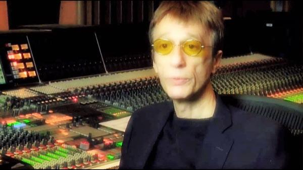 Robin Gibb appears in the trailer for his new classic album, 'The Titanic Requiem,' which was posted on his <a href='http://www.youtube.com/user/robingibb' title='Robin Gibb on YouTube' target='_blank'>YouTube page</a> on Jan. 12, 2012.