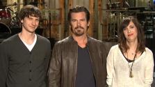 Gotye, Josh Brolin and Kristen Wiig appear in a promotional photo for NBCs sketch comedy Saturday Night Live. - Provided courtesy of NBC