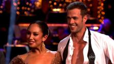 Telenovela star William Levy and his partner Cheryl Burke received 29 out of 30 points from the judges for their Argentine Tango on week five of Dancing With The Stars, which aired on April 16, 2012. - Provided courtesy of ABC