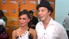 Gavin DeGraw talks to OnTheRedCarpet.com after Dancing With The Stars: The Results Show on April 17, 2012. - Provided courtesy of OTRC