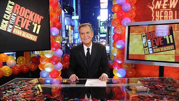 Dick Clark appears in a promotional photo for the ABC special: Dick Clarks New Years Rockin Eve with Ryan Seacrest 2012. - Provided courtesy of ABC / Ida Mae Astute