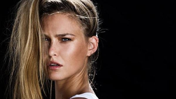 Israeli model Bar Refaeli appears in an undated photo from her official Twitter account. - Provided courtesy of Twitter.com/barrefaeli
