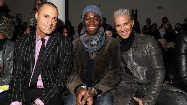 Nigel Barker, J. Alexander and Jay Manuel appear in a photo posted on Tyra Banks official Facebook page on April 20, 2012. - Provided courtesy of Facebook.com/TyraBanks