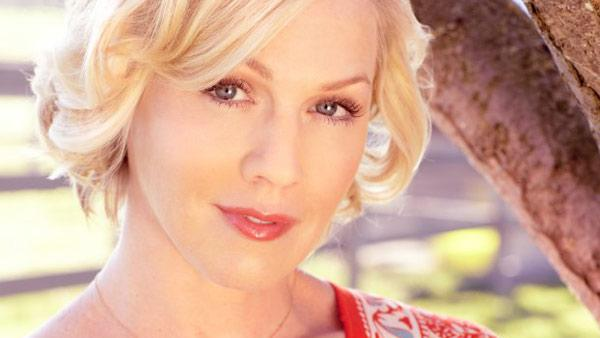 Jennie Garth appears in an undated promotional photo for her 2012 reality series Jennie Garth: A Little Bit Country. - Provided courtesy of CMT