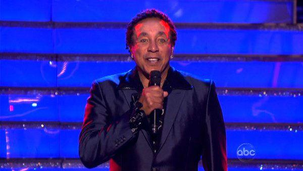 Smokey Robinson performed on week six of 'Dancing With The Stars,' which aired on April 23, 2012.