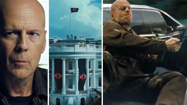 Bruce Willis appears in scenes from the 2012 movie G.I. Joe: Retaliation. - Provided courtesy of Paramount Pictures