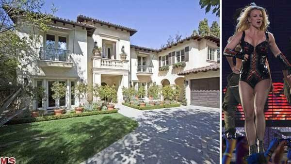 Britney Spears Beverly Hills home that she bought in 2007. / Britney Spears taped an exclusive concert performance for Good Morning America, from the Bill Graham Civic Auditorium in San Francisco, which aired on Tuesday, March 29, 2011. - Provided courtesy of ABC / Prudential California Realty / Rick Rowell