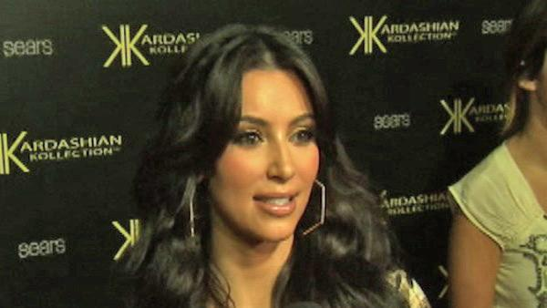 Kim Kardashian talks to OnTheRedCarpet.com in August 2011 at a Los Angeles event promoting her fashion line, the Kardashian Kollection, at Sears. - Provided courtesy of OTRC