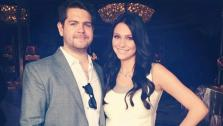 Jack Osbourne and Lisa Stelly appear in a photo posted on Stellys official Twitter page on Feb. 13, 2012. - Provided courtesy of Twitter.com/LisaMarStelly / http://lockerz.com/s/183563021