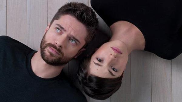 Topher Grace and Olivia Thirlby appear in a promotional photo for the off-Broadway play Lonely, Im Not, which appeared on the Second Stage Theatres official Facebook page. - Provided courtesy of Facebook.com/2STNYC / Robert Ashcroft