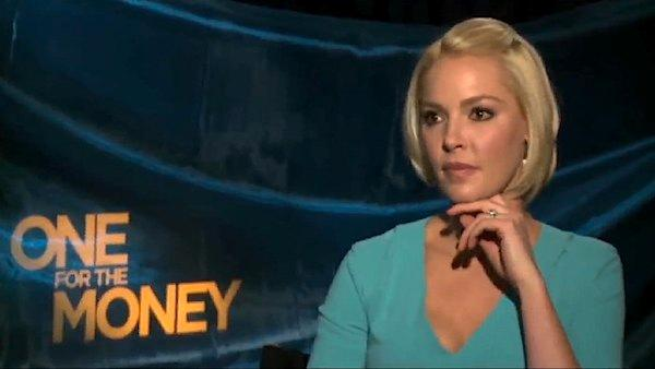 Katherine Heigl dishes on her 'One for the Money' to OnTheRedCarpet.com in January 2012.