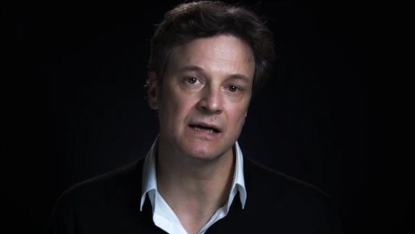 Colin Firth appears in a scene from a 2012 PSA for Survival International. The campaign aims to save the Brazilian Awa from being murdered by illegal invaders. - Provided courtesy of Survival International
