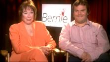 Shirlie Maclaine and Jack Black talk to OnTheRedCarpet.com about Bernie in an April 2012 press junket. - Provided courtesy of OTRC
