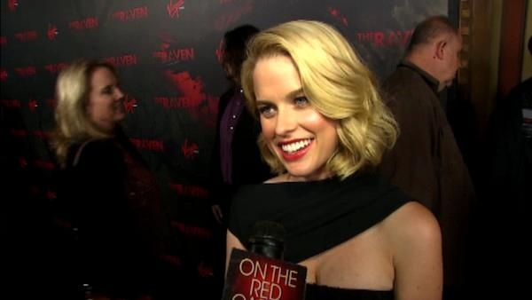 Alice Eve talks about 'The Raven'