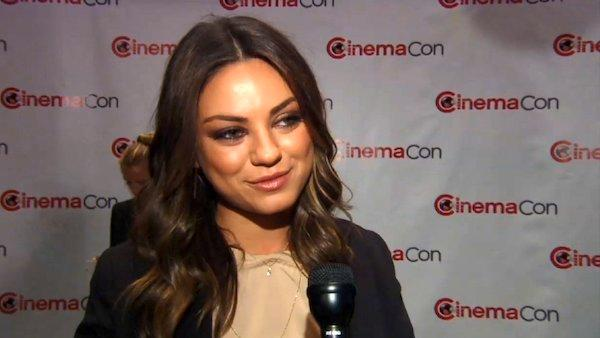Mila Kunis talks about Oz the Great and Powerful at Disney CinemaCon on April 24, 2012. - Provided courtesy of OTRC