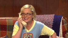 Amy Poehler appears in a still from the live episode of 30 Rock, which aired on April 26, 2012. - Provided courtesy of NBC