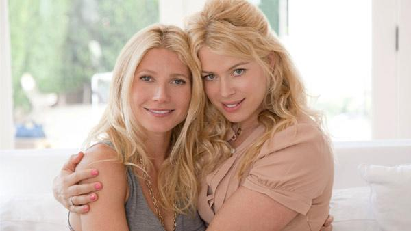 Gwyneth Paltrow and Amanda De Cadenet from an episode of the Lifetime series The Conversation with Amanda de Cadenet, which aired on April 26, 2012. - Provided courtesy of Steven Perilloux / Lifetime / A&E Television Networks, LLC