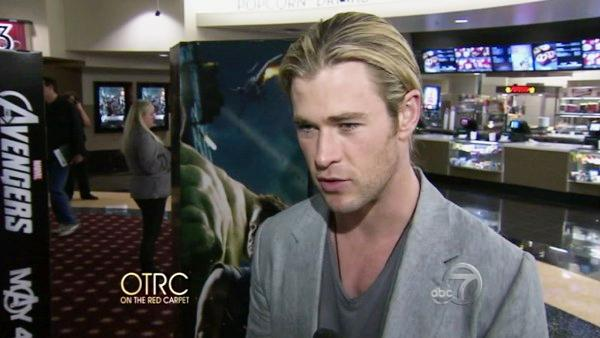 'The Avengers' screening in L.A.