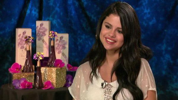 Selena Gomez talks about her fragrance and movie career in an interview with OnTheRedCarpet.com in Los Angeles on April 19, 2012. The perfume is available at Macys, starting in May 2012. - Provided courtesy of OTRC