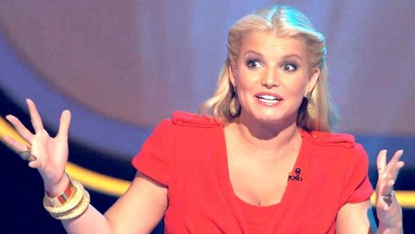 Jessica Simpson appears in a scene from the NBC show Fashion Star in 2012. - Provided courtesy of NBC