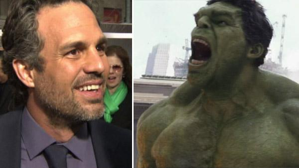 Mark Ruffalo talks Hulk in 'The Avengers'