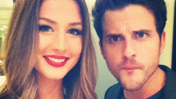 Jared Followill of 'Kings of Leon' appear in a photo posted on his fiance Martha Patterson's Official Twitter page.