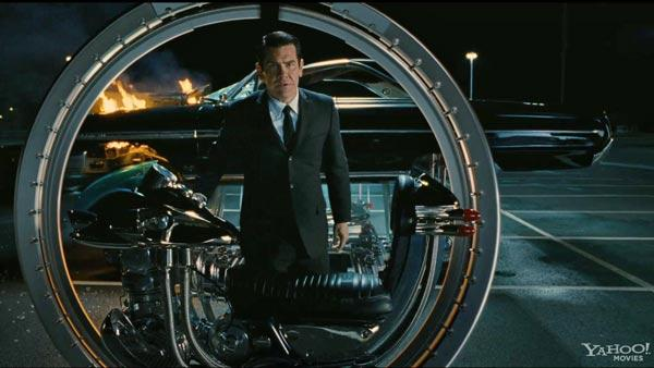 Josh Brolin appears in a scene from the 2012 film Men in Black III. - Provided courtesy of Sony Pictures