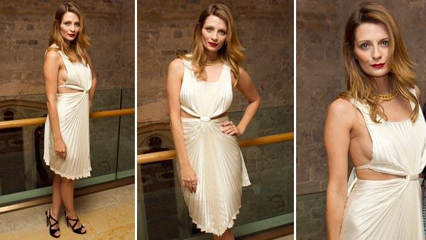 U.S. actress Mischa Barton arrives to the Women for Women gala in Guildhall, London, Thursday, May 3, 2012. The event celebrates the charitys sixth birthday with a dinner and an auction. - Provided courtesy of AP / AP Photo / Joel Ryan