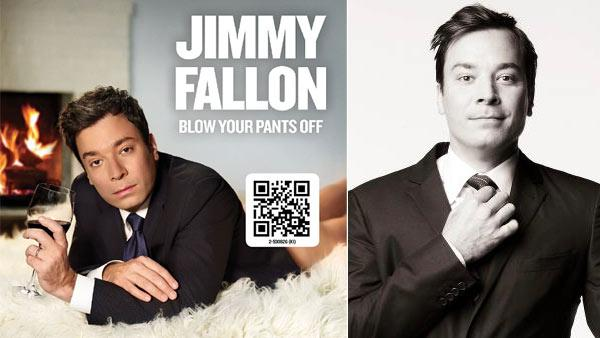 Jimmy Fallon debuted the cover to his new album, Blow Your Pants Off, on his Official Instagram and Twitter pages. / Jimmy Fallon appears in a March 14 photo from his Official Facebook. - Provided courtesy of Facebook.com/JimmyFallon / twitter.com/jimmyfallon
