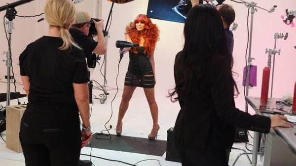 Aubrey ODay appears in a still from The Celebrity Apprentice on May 6, 2012. - Provided courtesy of NBC / Douglas Gorenstein