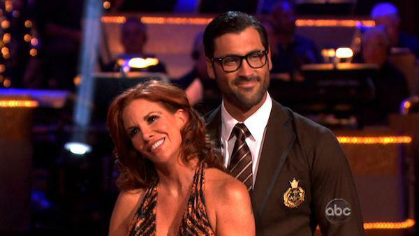 Melissa Gilbert, a former child star who played Laura on 'Little House on the Prairie,' and her partner Maksim Chmerkovskiy received 24 out of 30 points from the judges for their Fox Trot on week eight of 'Dancing With The Stars,' which aired on April 30,