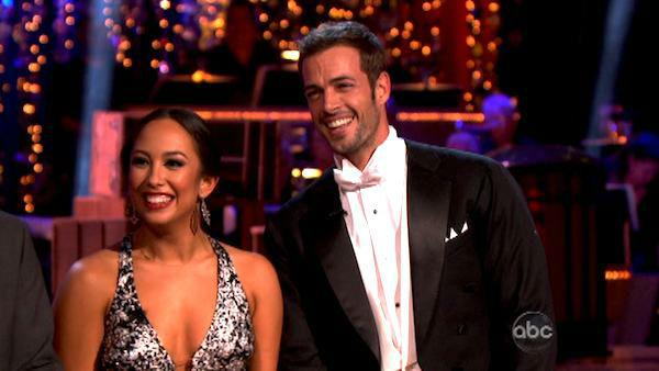 Telenovela star William Levy and his partner Cheryl Burke received 30 out of 30 points from the judges for their Fox Trot on week eight of Dancing With The Stars, which aired on April 30, 2012. - Provided courtesy of ABC