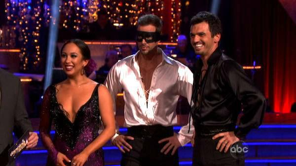 Telenovela star William Levy and his partner Cheryl Burke, along with guest dancer tk, received tk out of 30 points from the judges for their 27 on week eight of 'Dancing With The Stars,' which aired on April 30, 2012. His total score was 57 out of 60 poi