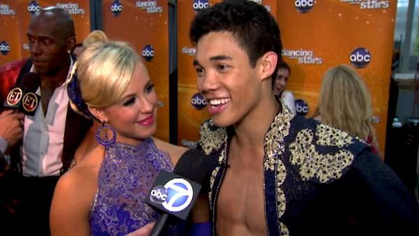 Roshon Fegan talks after 'DWTS' week 8