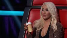 Christina Aguilera appears on NBCs The Voice on May 7, 2012. - Provided courtesy of NBC