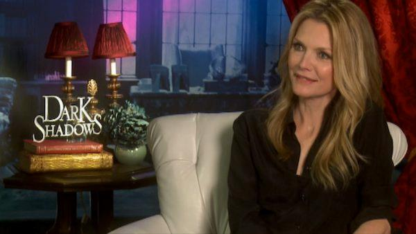Michelle Pfeiffer: I begged Tim Burton to do 'Dark Shadows'