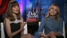 Chloe Grace Moretz and Bella Heathcote talk about their 2012 film Dark Shadows with OnTheRedCarpet.com in April 2012. - Provided courtesy of OTRC