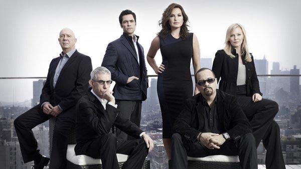 The cast of  Law & Order: SVU appears in a promotional photo for Law & Order: SVU season 13. - Provided courtesy of NBC
