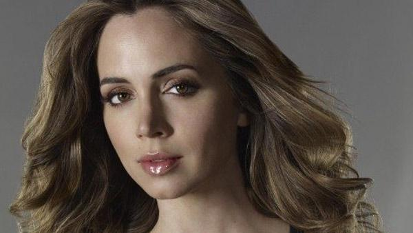 Eliza Dushku appears in a promotional still from 'Dollhouse'.