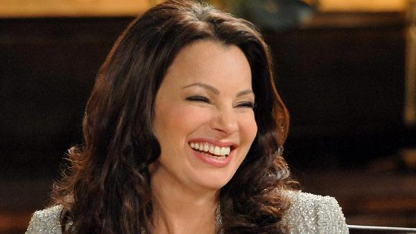 Fran Drescher appears in a still from her TV series, 'Happily Divorced.'